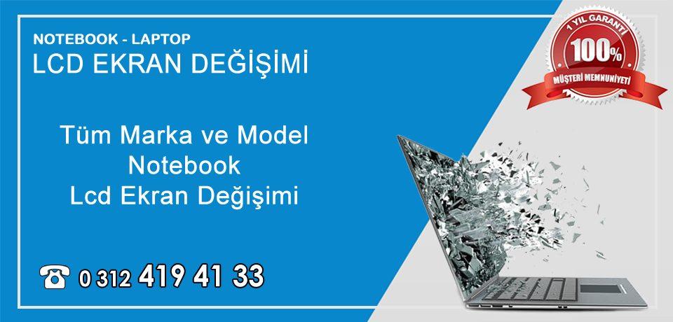 Notebook | Laptop Ekran Değişimi Ankara