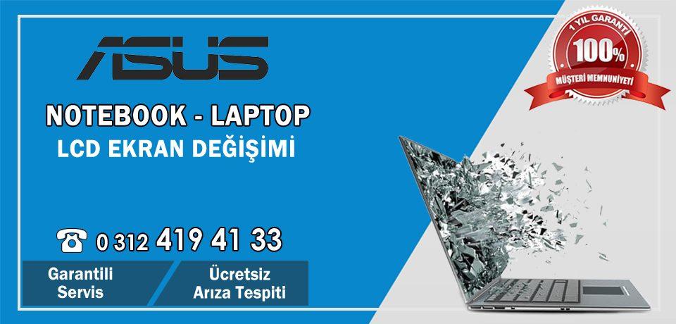 Asus Laptop Ekran Değişimi | Ankara Asus Notebook Kırık Lcd Ekran Fiyatları Dex Garantili