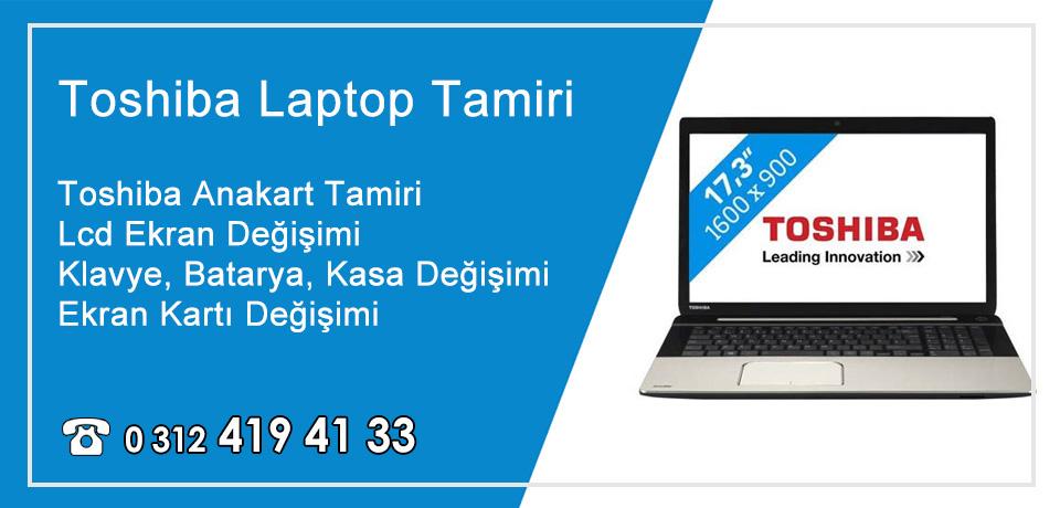 Toshiba Laptop – Notebook Tamiri Ankara / Lcd Ekran Değişimi Servisi
