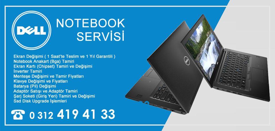 Dell Notebook – laptop Tamiri Ankara Dex Servis Garantili