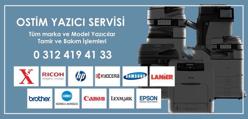 Ostim Yazıcı Tamiri ve Bakımı | Yerinde Teknik Servis Ankara Garantili Bakım