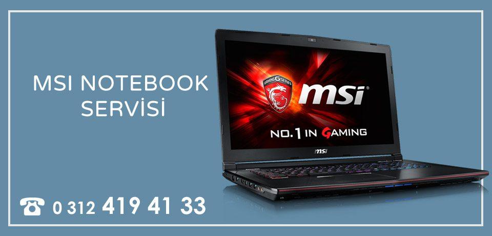 MSI Notebook – Laptop Tamiri Ankara Lcd Ekran Panel Değişimi Garantili
