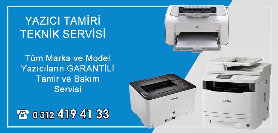 Yazıcı Tamiri Ankara | Garantili Teknik Servis ve Bakım Hizmetleri